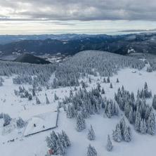 Курорт Пампорово, Изглед от кулата на връх Снежанка, Смолянска област - Снимки от България, Курорти, Туристически Дестинации