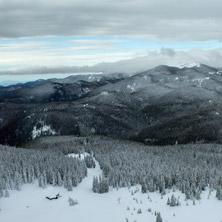 Курорт Пампорово, Изглед от кулата на връх Снежанка, Смолянска облас - Снимки от България, Курорти, Туристически Дестинации
