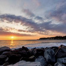 Изгрев на Плажа на Царево,  Област Бургас - Снимки от България, Курорти, Туристически Дестинации