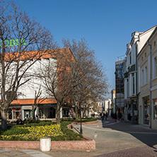 Град Хасково, Главна Улица, Област Хасково - Снимки от България, Курорти, Туристически Дестинации