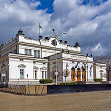 София, Сградата на Народно Събрание, Област София Град - Снимки от България, Курорти, Туристически Дестинации