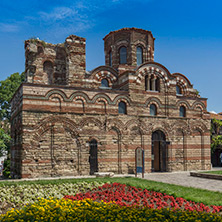 Несебър, Църква Христос Пантократор, Област Бургас - Снимки от България, Курорти, Туристически Дестинации