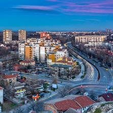 Пловдив Залез, изглед от Небет тепе - Снимки от България, Курорти, Туристически Дестинации